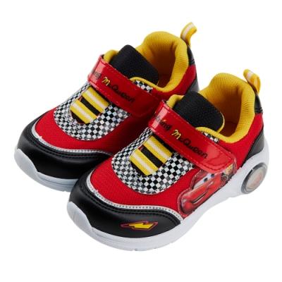 迪士尼童鞋 閃電麥坤 經典造型電燈鞋-紅(柏睿鞋業)