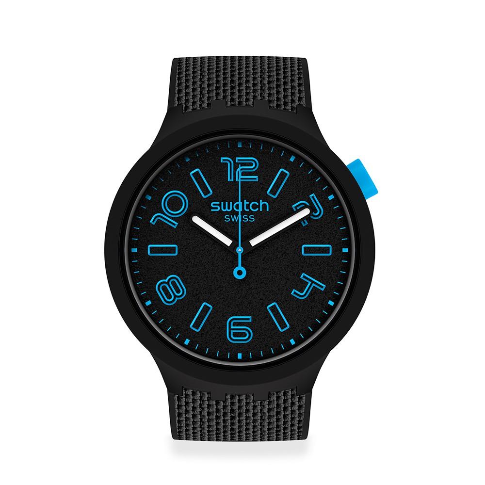 【SWATCH】BIG BOLD系列手錶DEEP CONCRETE 穩重紳士(47mm) SO27B118