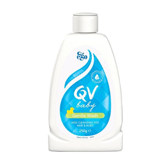 【QV】嬰兒呵護潔膚乳 250g (澳洲皮膚科NO.1 肌膚修護第一品牌)