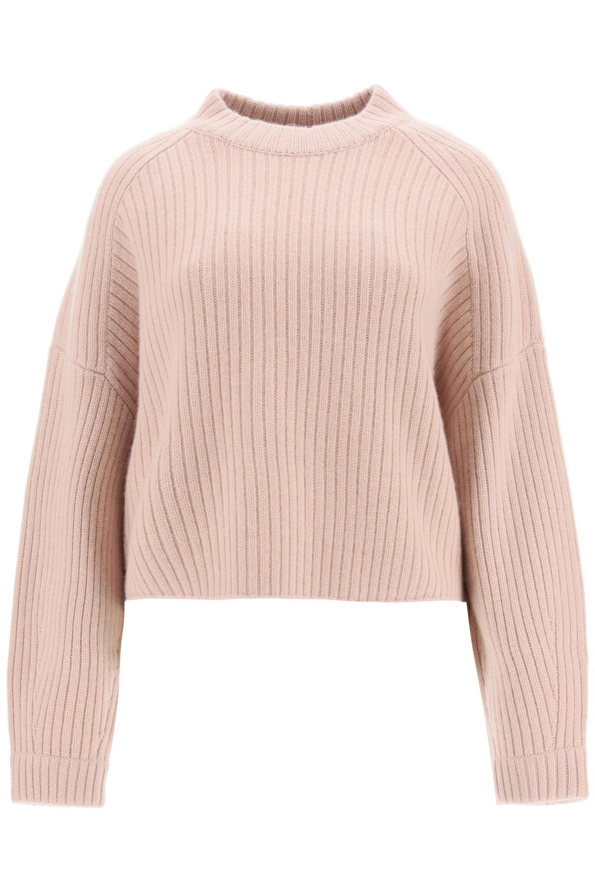 LE KASHA MACAO CASHMERE SWEATER OS Pink Cashmere