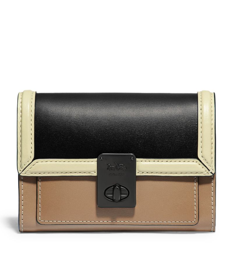 Coach Leather Hutton Wallet
