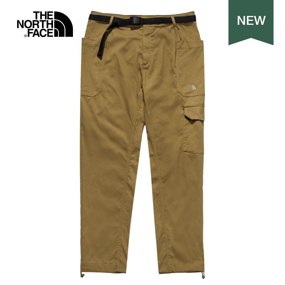 The North Face北面男款棕色吸濕排汗休閒褲|4U8U173