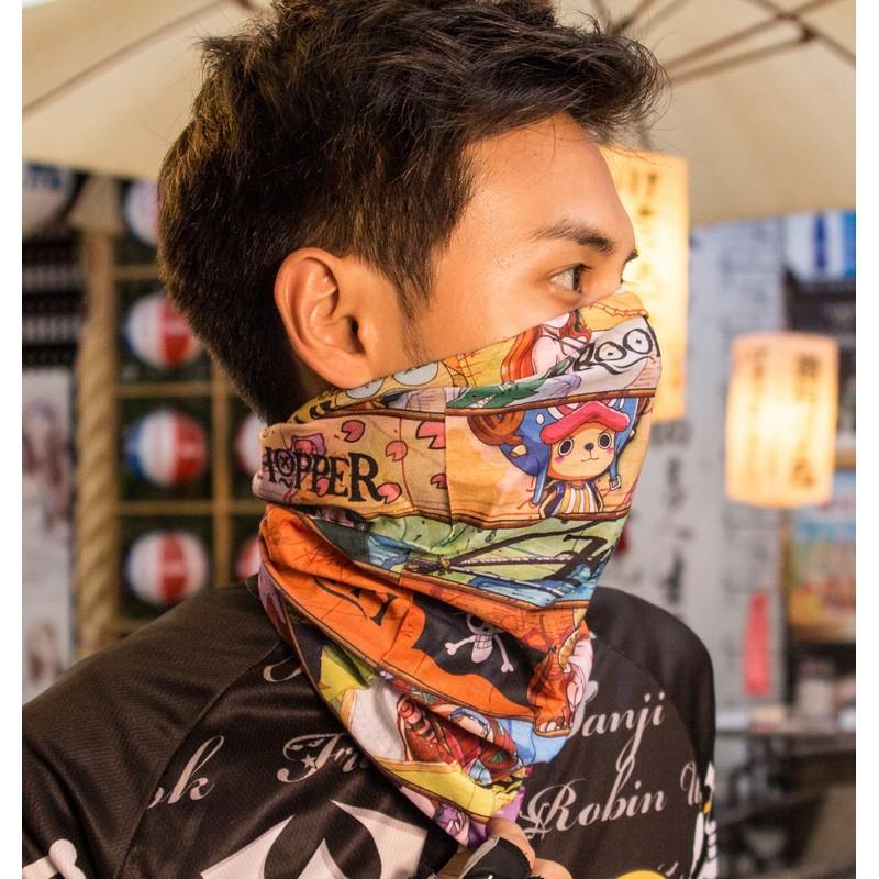 路達航海王系列-人物01百變頭巾 防曬透氣 原廠授權