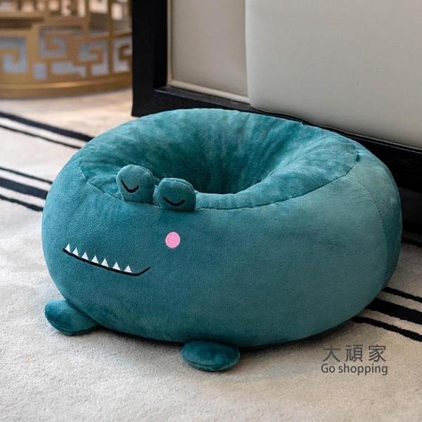 蒲團坐墊 ins蒲團坐墊家用地上臥室圓形榻榻米坐墊座椅圓墊子坐墊地板坐墊