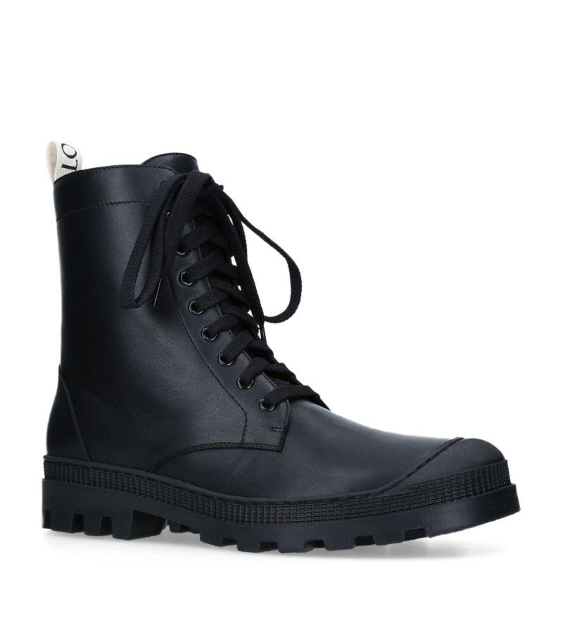 Loewe Combat Boots