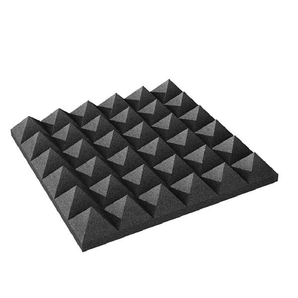 凱傑樂器 Auralex Pyramid 2吋 金字塔 吸音棉 人聲配唱室 空間處理 NRC 0.7