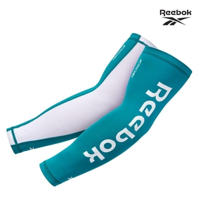 Reebok-溫控修復訓練袖套(湖水綠)(S)