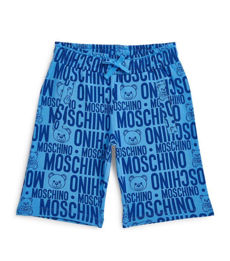Moschino Kids All-Over Logo Sweatshorts (4-14 Years)