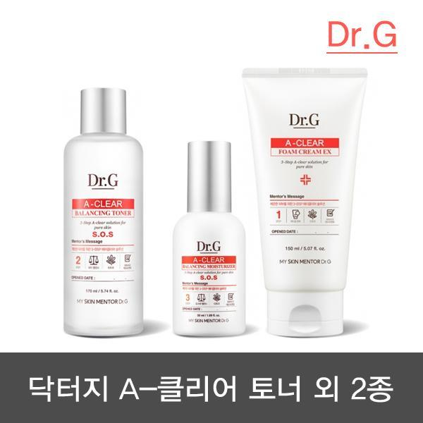 [Dr.G] A Clear平衡爽膚水外 2種
