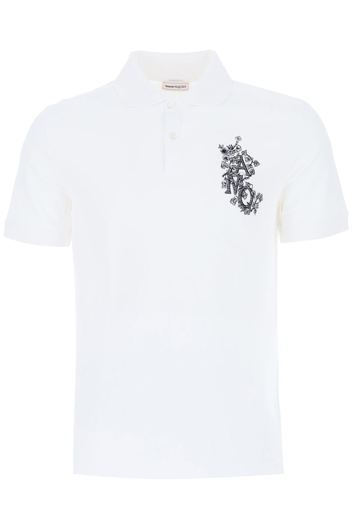ALEXANDER MCQUEEN 0 S White, Black Cotton