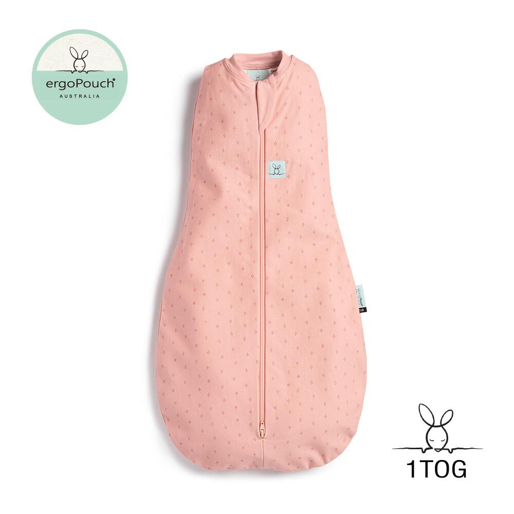 澳洲 ergopouch 二合一舒眠包巾 1tog 莓果粉