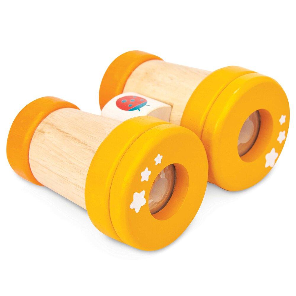 英國 Le Toy Van 啟蒙玩具系列 - 萬花筒望遠鏡啟蒙木質玩具(PL116)