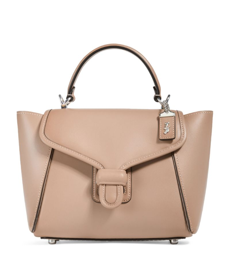 Coach Leather Courier Carryall Bag