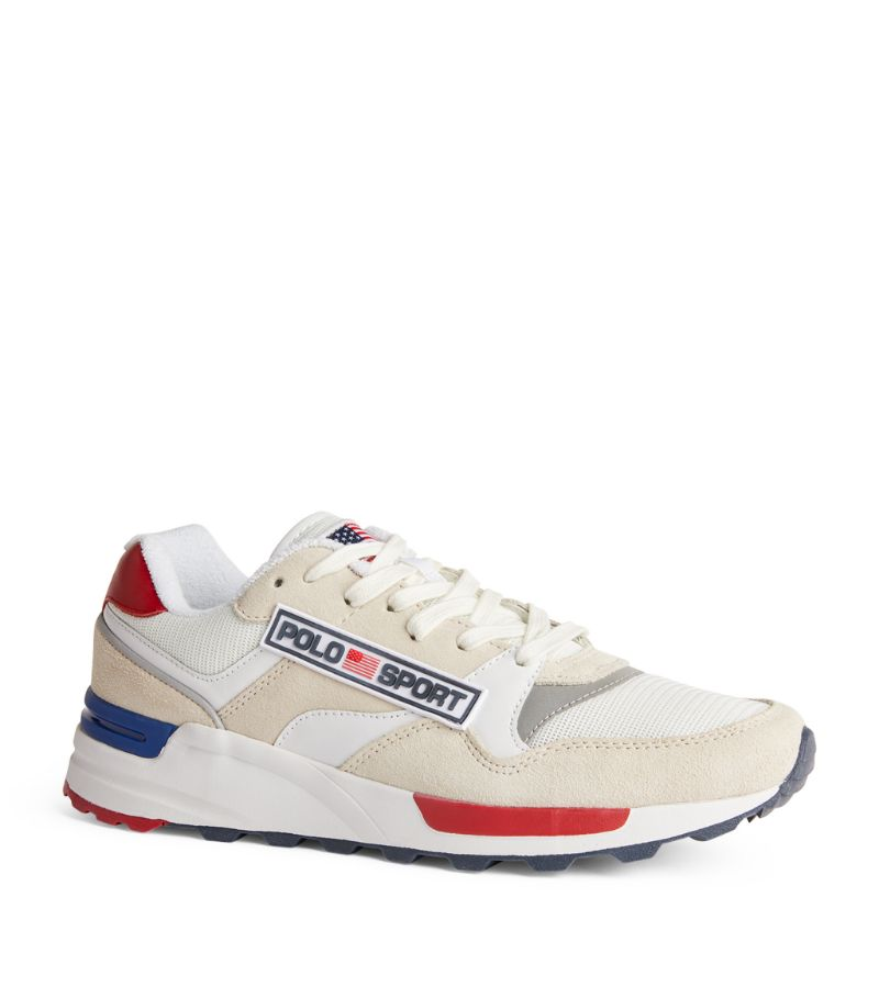 Polo Ralph Lauren Leather Panelled Sneakers