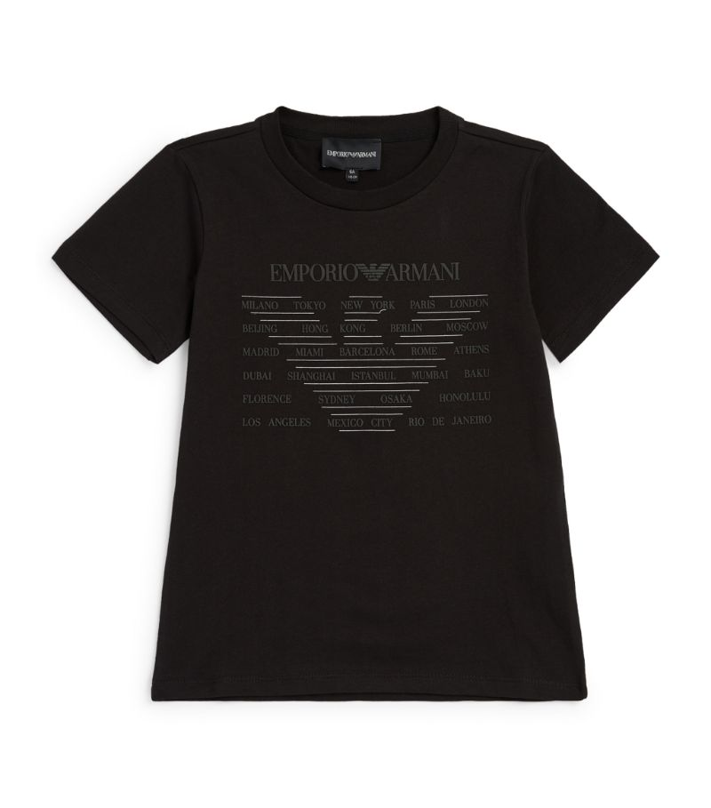 Emporio Armani Kids Eagle Logo T-Shirt (4-14 Years)