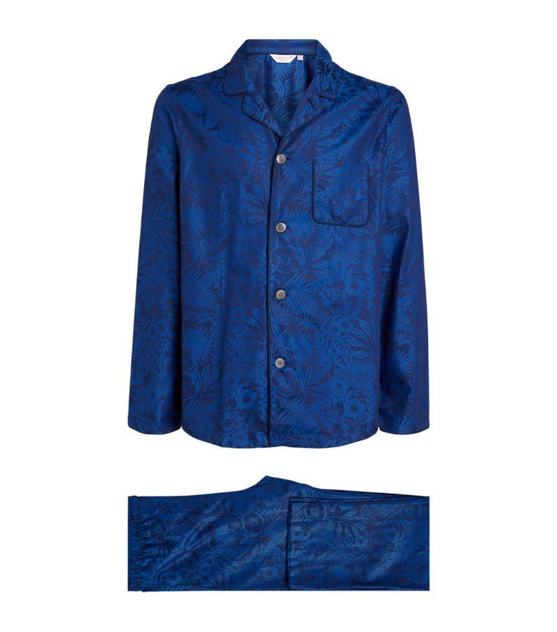 Derek Rose Cotton Tropical Pyjama Set