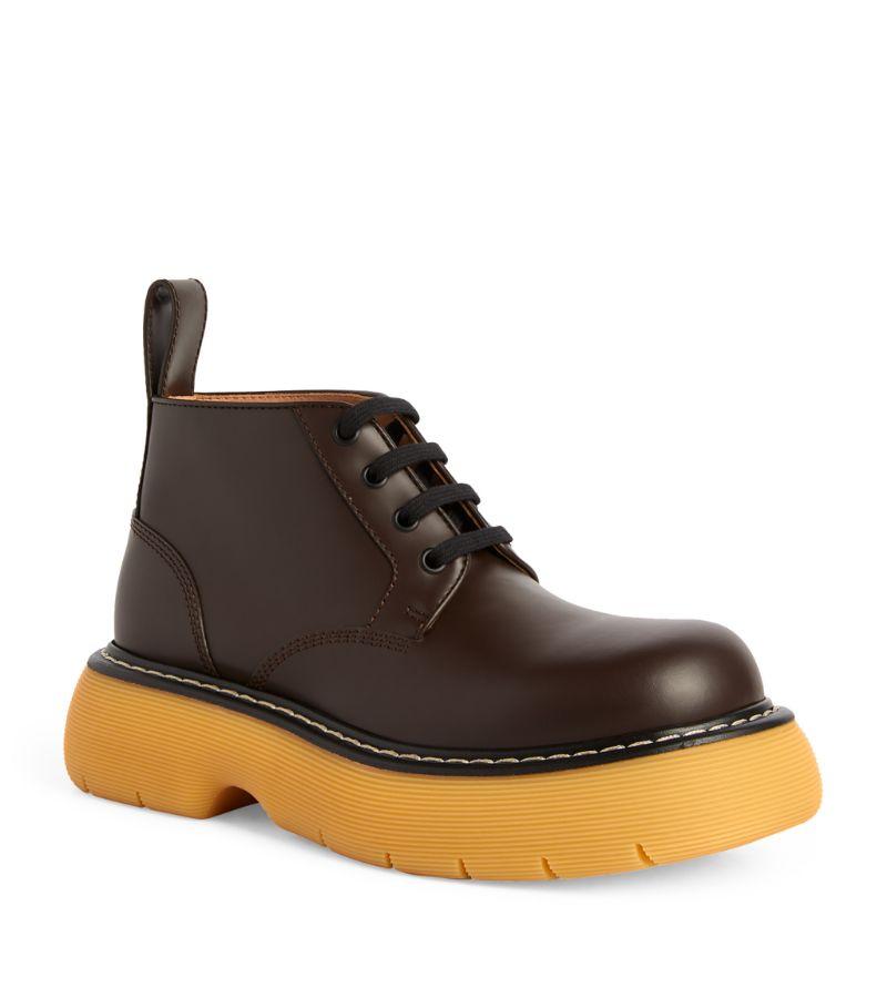 Bottega Veneta The Leather Bounce Boots 35