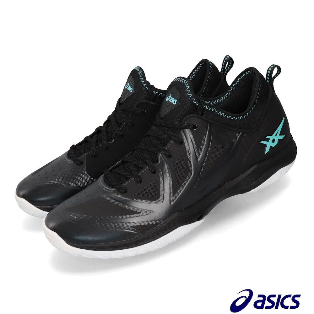 ASICS 籃球鞋 Glide Nova FF AWC 男鞋 亞瑟士 襪套 FlyteFoam 緩震 黑 藍 [1061A003022]