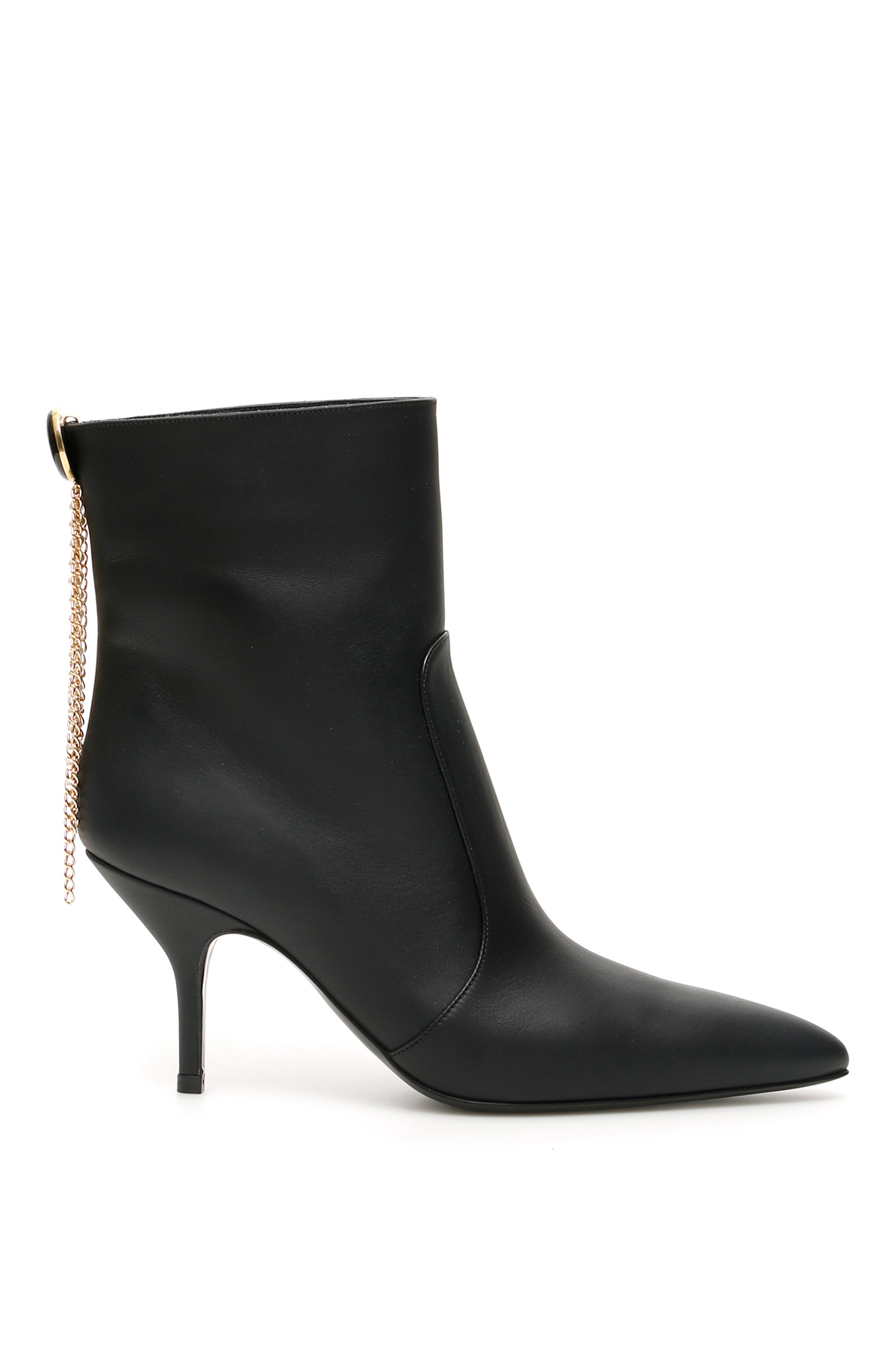 MAGDA BUTRYM EGYPT CHARM ANKLE BOOTS 36 Black Leather