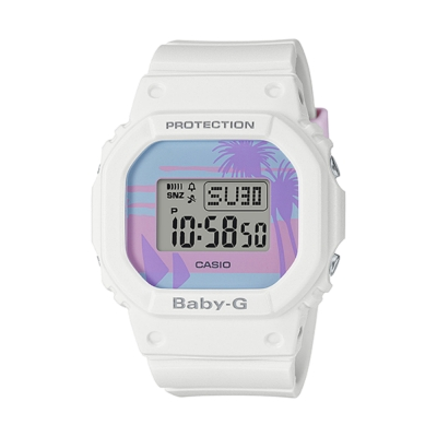 CASIO卡西歐 BABY-G復古海灘風情電子錶(BGD-560BC-7D)