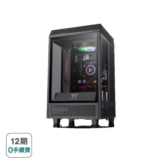 【曜越】【聖櫃Mix i7】一體式水冷電競電腦(i7/P2200/32G/1TB)  CA-4A2-00D1WT-A2