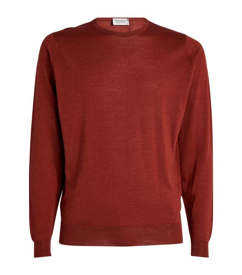 John Smedley Wool-Cotton Sweater