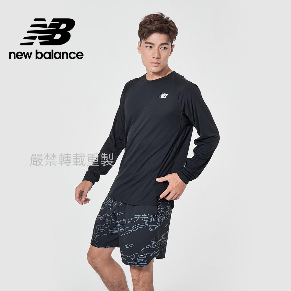 【New Balance】Dry長袖T_男性_黑色_MT11054BK