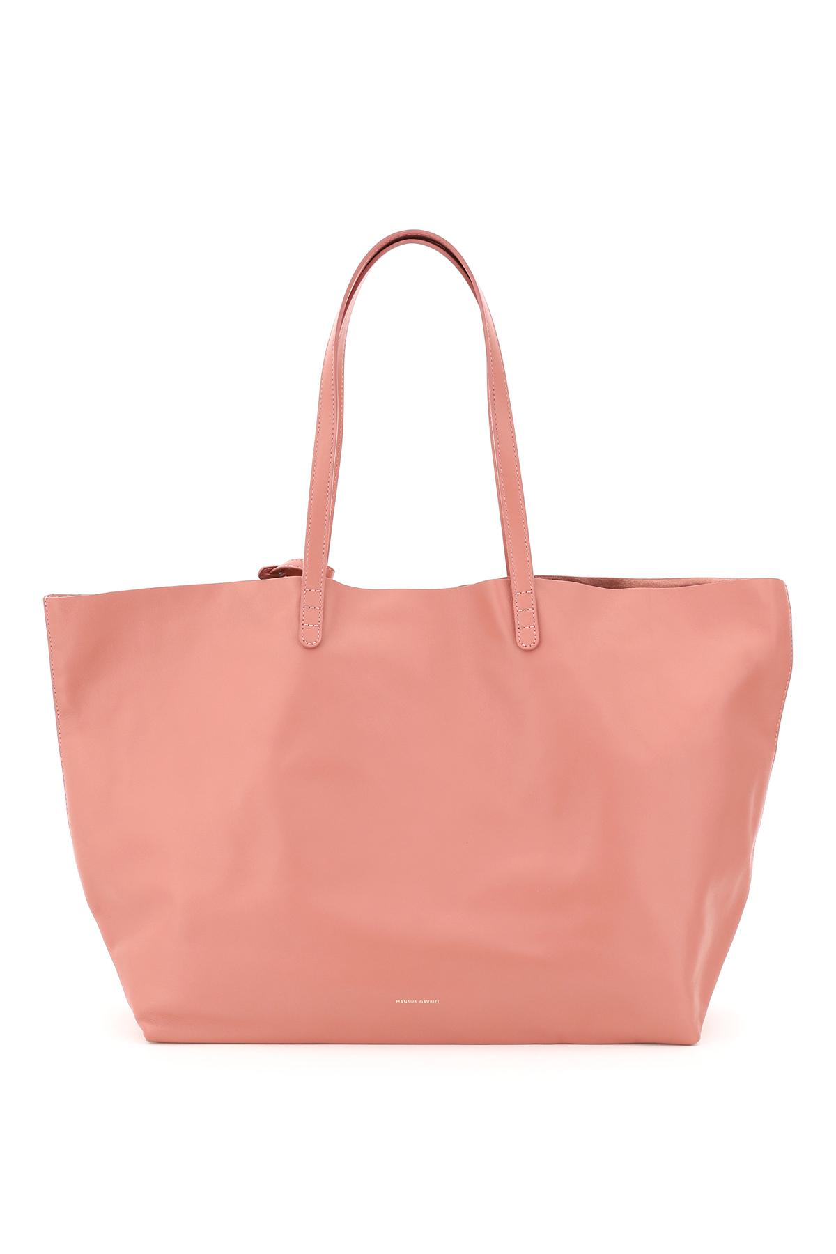 MANSUR GAVRIEL OVERSIZE NAPPA TOTE BAG OS Pink Leather