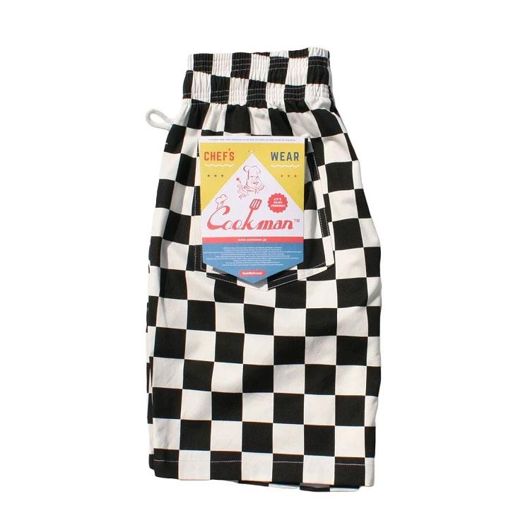 Cookman USA - 231-83840 Chef Short Pants 廚師短褲 / 休閒短褲 (黑白格)