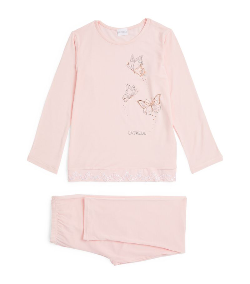 La Perla Kids Butterfly Pyjama Set (4-14 Years)