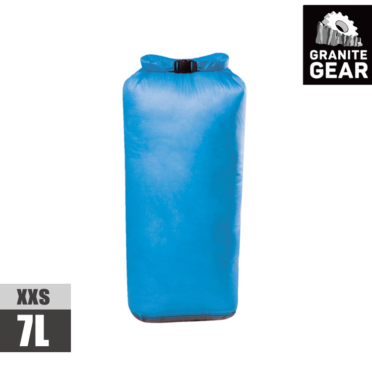 Granite Gear 175188 eVent Sil DrySack 輕量防水收納袋(7L) / 藍色