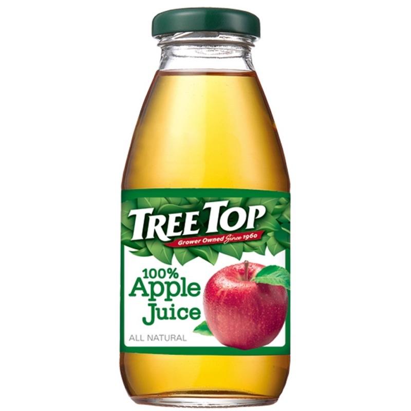✅全省免運 TREE TOP樹頂 100%蘋果汁 300ml x 24瓶 果汁 蘋果汁
