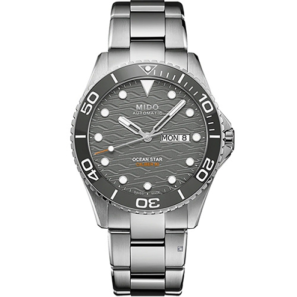 MIDO 美度 Ocean Star 200C海洋之星 廣告款陶瓷潛水錶 M0424301108100