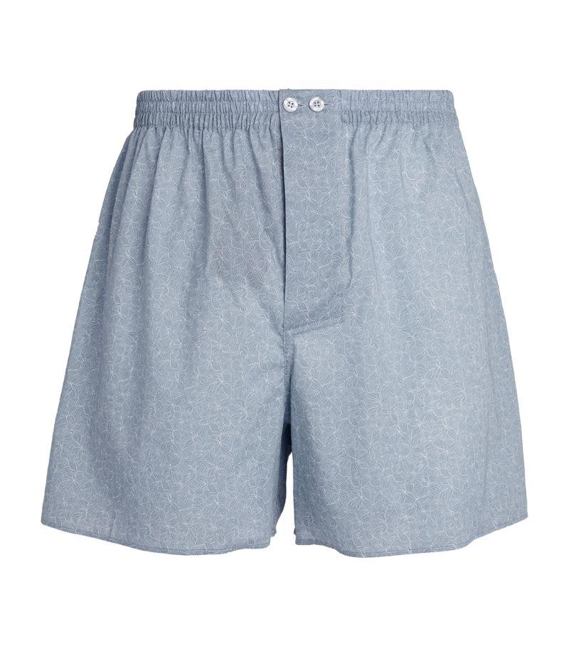 Zimmerli Cotton Coral Print Boxer Shorts
