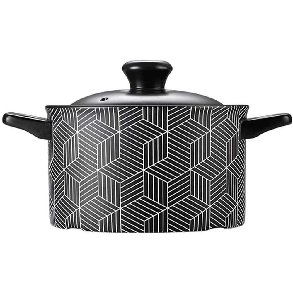 【西華SILWA】英倫前衛耐熱瓷湯鍋2.5L/3.5L-幾何