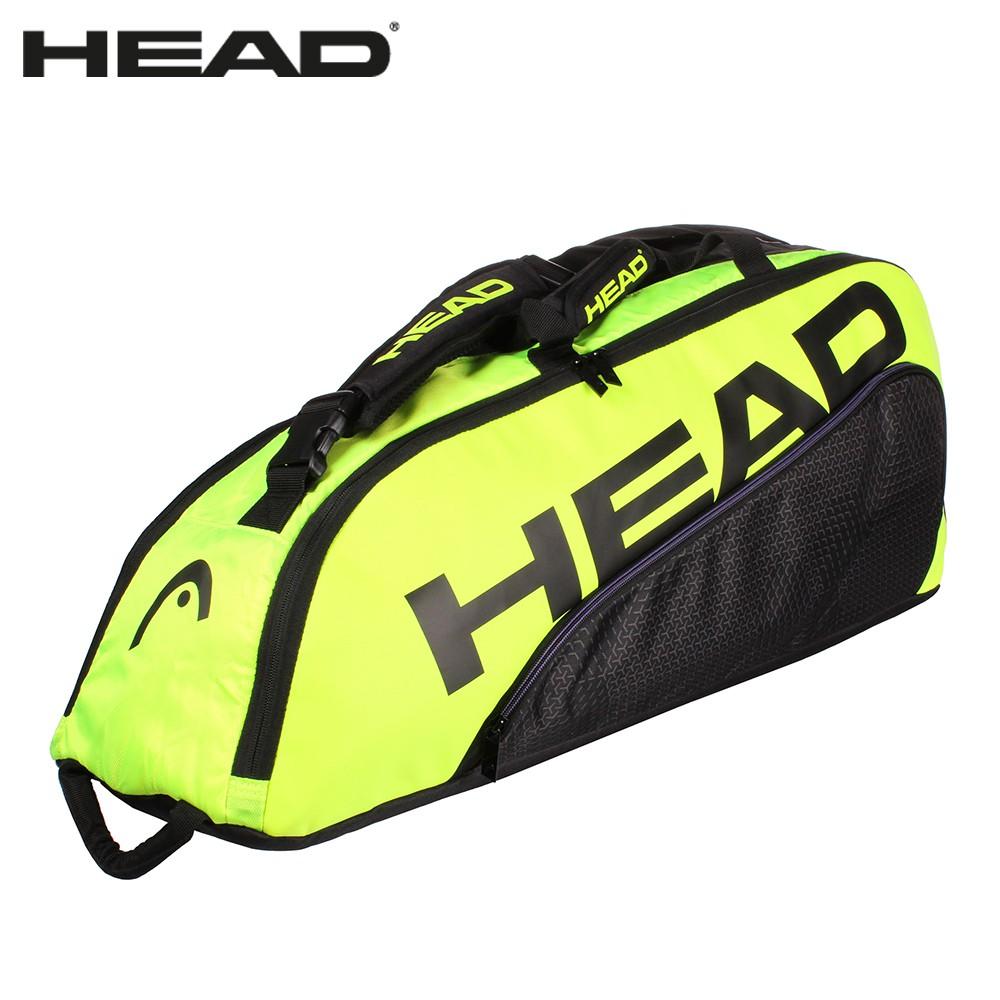 出清 HEAD TOUR TEAM 6支裝球拍袋 283460 網球拍袋 收納袋 衣物袋 適壁球羽毛球拍