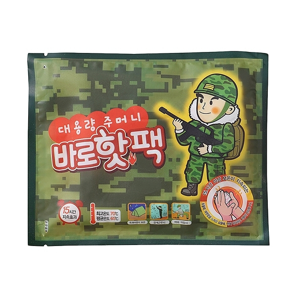 【任3件$60】韓國阿兵哥暖暖包(140g)單包【小三美日】