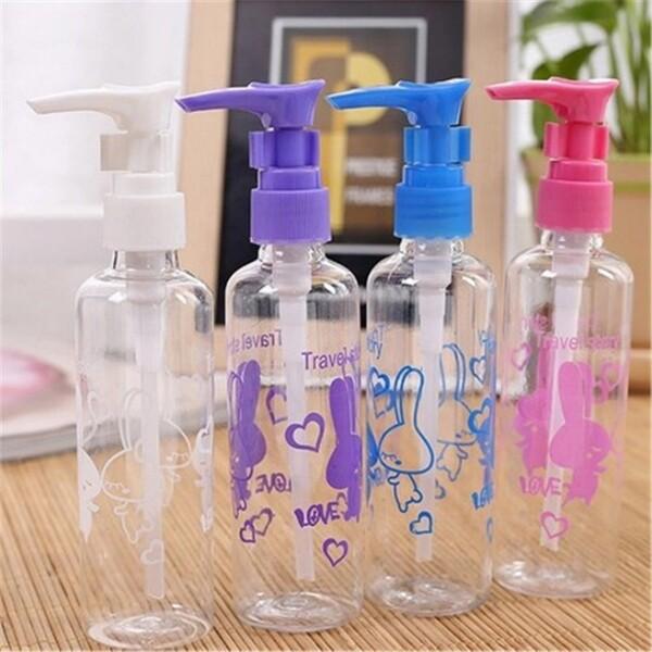 透明美容化妝乳液分裝瓶100ml h350