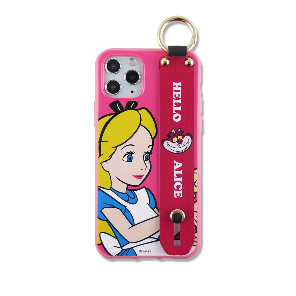 Disney迪士尼手腕帶立架手機殼_愛麗絲