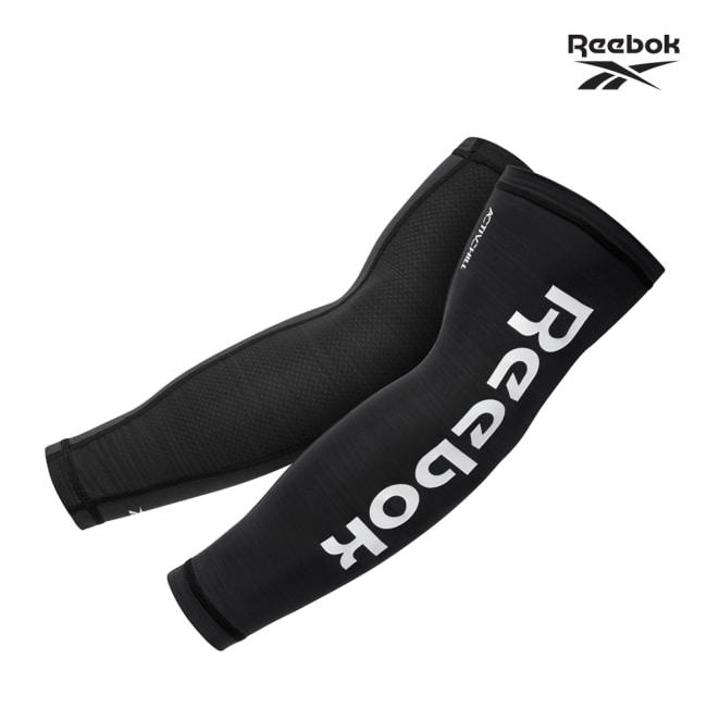 Reebok-溫控修復訓練袖套(經典黑)(S)