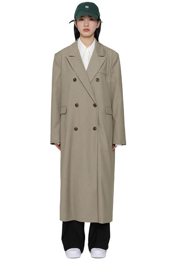 韓國空運 - Earth Oversized Double Long Coat 大衣