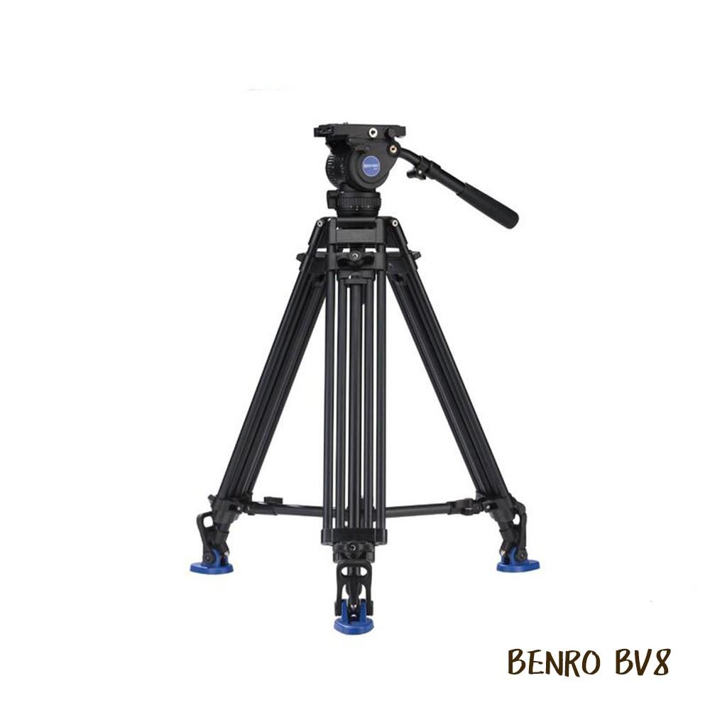 BENRO 百諾 BV8 油壓攝影腳架套組 BV系列 鋁合金 QR13 BV4 BV6 BV10 相機專家 公司貨