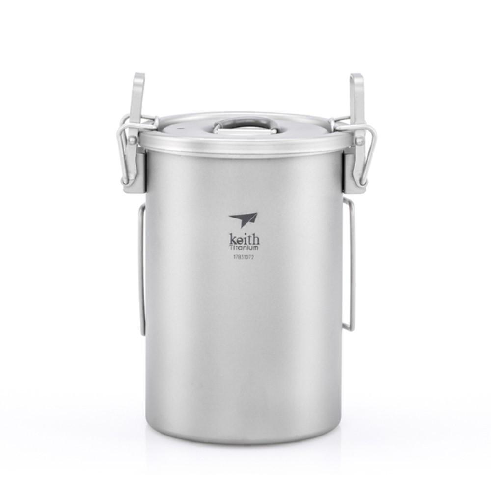 Keith 單層多功能煮飯神器900ml (附收納袋) Ti6300
