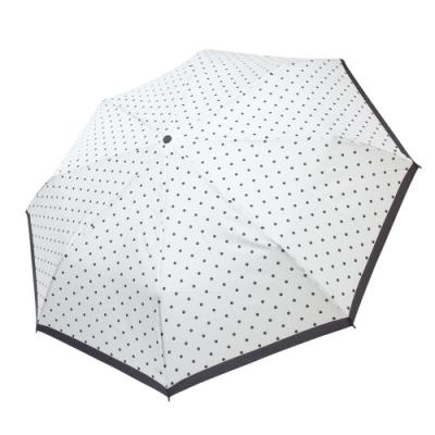 RAINSTORY冰雪點點抗UV隨身自動傘