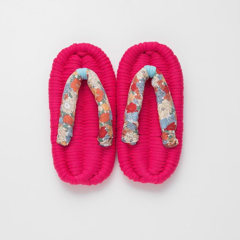 兒童拖鞋【櫻桃粉】