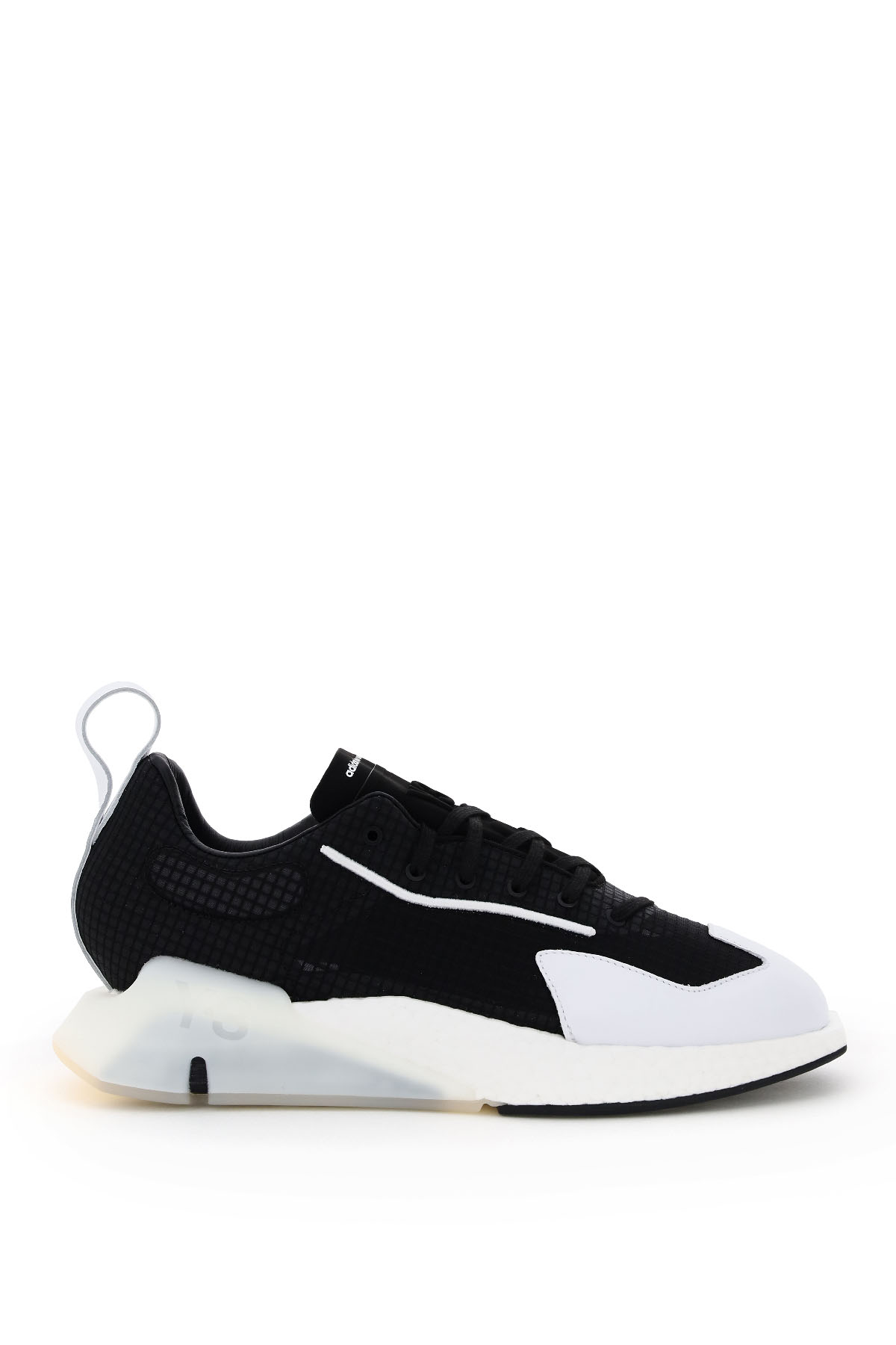 Y-3 Y-3 ORISAN SNEAKERS 9 Black, White Technical, Leather