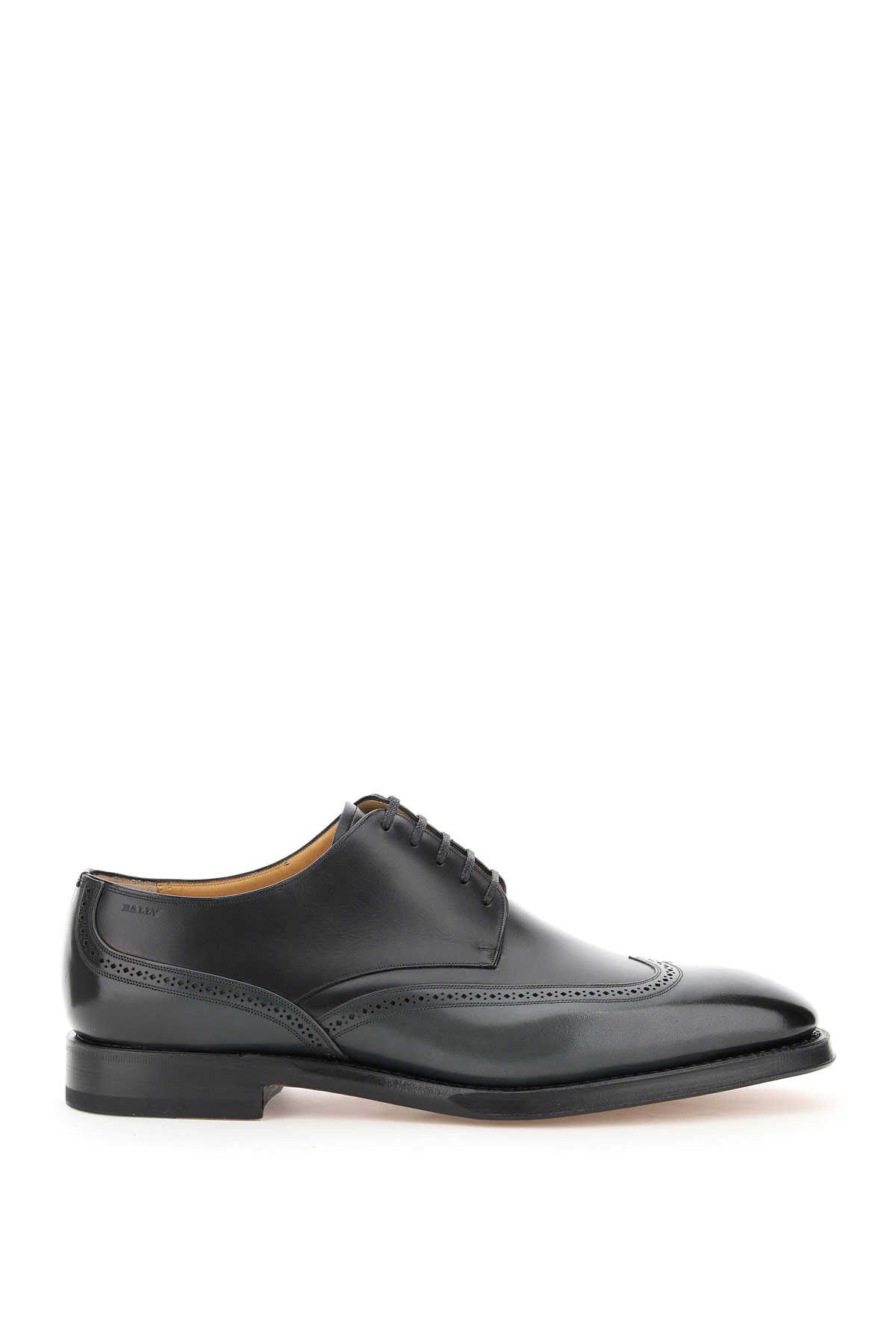 BALLY TIGHTEN SCONNY 5 Grey, Black Leather