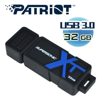 (6/20前再送3%超贈點)Patriot美商博帝 BOOST XT 32GB R/W 150M/30M USB隨身碟