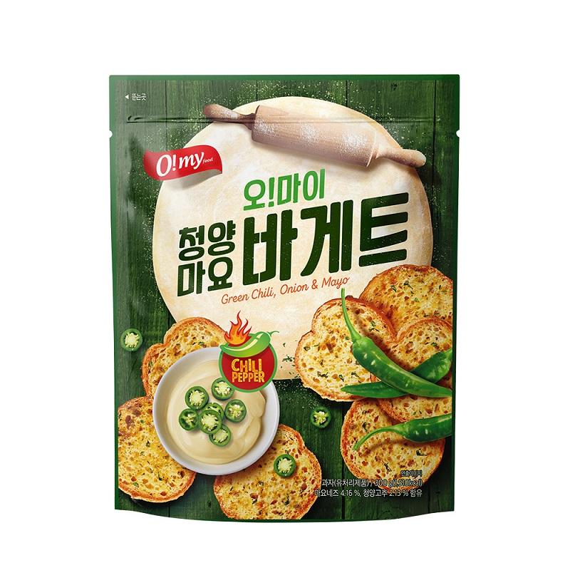 歐邁福法式麵包餅乾-青陽辣椒美乃滋口味300g