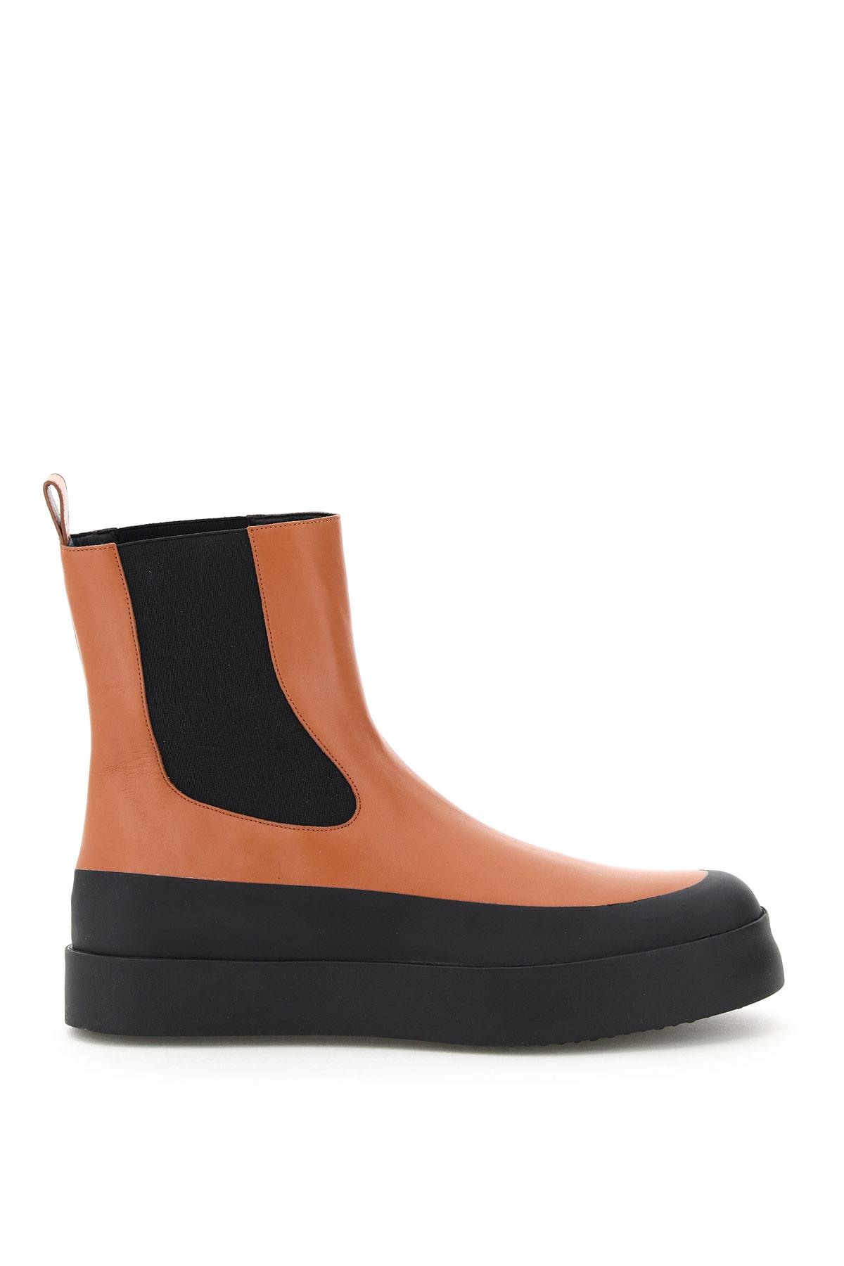 NEOUS ZANIAH BOOTS 35 Brown, Black Leather